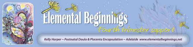Elemental Beginnings post-natal doula and placenta encapsulation services in Adelaide